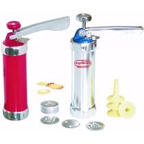 Maquina P/ Hacer Galletitas Maker De Aluminio Con Acc Oferta