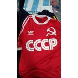 Camiseta Retro De Union Sovietica Cccp Unica