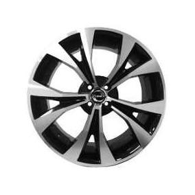 Roda 14 Esportiva 4x100 Preta Diamantada Gm Vw Fiat Renol