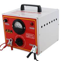Carregador De Bateria 10a 12/24v C/ Relógio E Seletor Jts