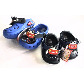 Zapato Sueco Sandalia Cholita Playera Niño Bebe Cars 18 A 23