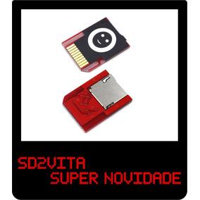 Sd2vita - Adaptador Micro Sd Para Ps Vita Psvita Lançamento