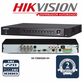 Hikvision Dvr 8 Canales Turbo Hd Ds-7208hqhi-sh Alarma