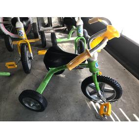 Triciclo Infantil Retro Caño Ruedas Goma Reforzados Nuevo R2