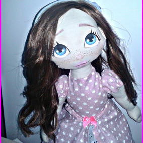 Boneca De Pano Lolita Luxo