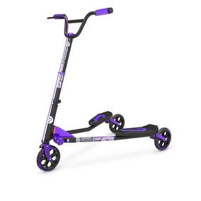 Patin Del Diablo Scooters Yvolution Yfliker C5 Carver Morado