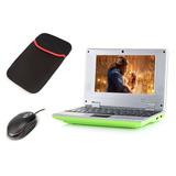 Macoku 7 Mini Notebook Laptop Netbook Android 4.4 V -verde