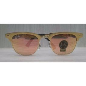 Óculos De Sol Ray-ban Polarizado Clubmaster Alumínio Rb3507