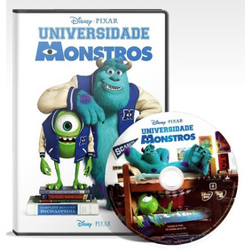 Universidade Monstros - Filme Disney Dvd Dublado