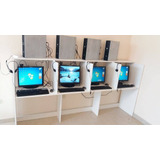Cyber 5 Computadors+mesas+camar+audifon+impresora+instalacio