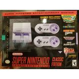 Super Nintendo Nes Mini Snes Classic Edition Envio Gratis