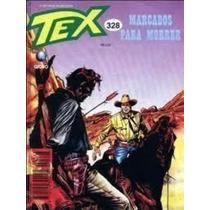 Livro Tex 328 - Marcados Para Morrer Sergio Bonelli Editore