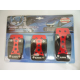 Kit Cubre Pedales Deportivos Universal P/ Auto Tuning