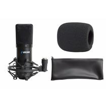 Microfone Arcano Usb Arc-bk Para Estudio E Gravações