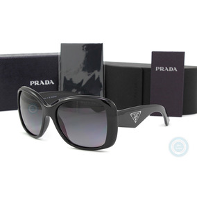 Lentes Prada Pr32ps 1ab5w1 Triangle Black Gradient Polarized