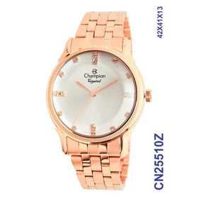 Relogio Champion Feminino Rose Gold - Cn25510z