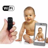 Mini Camera Wifi Transmissao Tempo Real Espiã