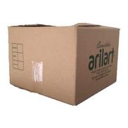 Caja Carton Mudanza Embalaje 31x31x22 Super Reforzada X 25 U