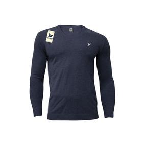 Sweater Bross Cuello Redondo Liso Slim Fit