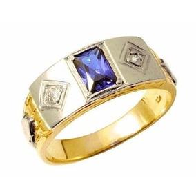 Anel De Formatura Ouro 18k Com Diamantes 6451a Mod. 2jjbzg