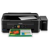 Multifuncional Epson Ecotank L455 Preta Wi-fi, Impressora, C