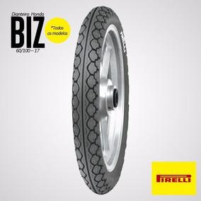 Pneu Pirelli 60 100 17 Mt 15 Dianteiro Biz 100 Biz 125