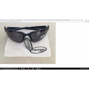 Óculos Sol Triton Eyewear Masc. Black P40133 Grilamid Tr-90