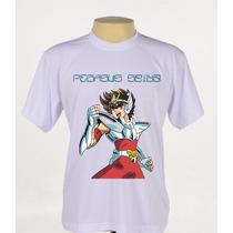 Camisa Camiseta Pegasus Saint Seiya Os Cavaleiros Do Zodíaco