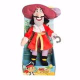 Peluche Capitán Garfio Jake Y Los Piratas Original Wabro