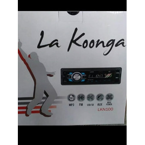 Reproductor Carro La Koonga Lkn 100 Mp3/aux/usb/sd