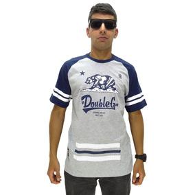 Camiseta Double G Hip Hop Sem Capuz Gray
