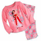 Pijama Elena De Avalor Infantil Luxo Disney Store Tam 7/8