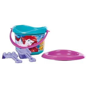 Balde De Praia Princesas Disney Ariel Multibrink