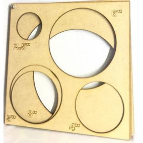 Cubo Calibrador De Globos Corte Laser
