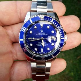 Relógio Masculino De Luxo Sub Mariner Rlx Aço Inoxidável