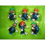 Super Mario E Luigi Camisa Da Itália Copa Do Mundo Nintendo