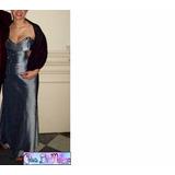 Vestido Largo Ideal Para Madrinas, Madre De 15 Añera O Novia