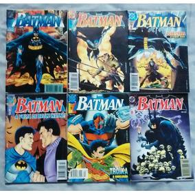Batman: 6 Primeiras Edições Em Formatinho.