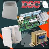 Alarma Dsc585 + Gabinete + Trafo + Teclado
