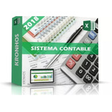 Contabilidad En Excel Sistema Contable Plantilla 2018