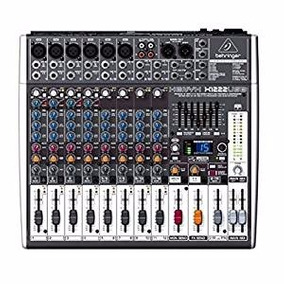 Consola Behringer Xenyx - X1222usb 12 Canales 2/2 Buses