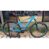 Bicicleta Aro 29 Orbea Mx-40 2018 Azul/turq/verm Tamanho L/m