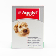 Asuntol Jabon Bayer 100gr Pulgas Garrapatas Piojos
