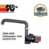 K&n Filtro De Alto Flujo 2006-2008 Volkswagon Jetta Gli/gti