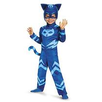 Máscaras Disfraz Catboy Clásico Del Niño Del Traje Del Pj,
