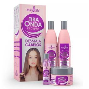 Kit Tira Onda Desmaia Cabelo Mary Life # Com Nf