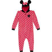 Pijama Macacão Pelúcia Minnie Kigurumi Adulto G Zonacriativa