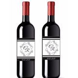 20 Rótulo Personalizado Para Vinhos E Espumantes 750ml