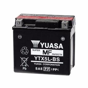 Bateria Motos Yuasa Ytx5l-bs Honda Titan Cg 150 Directorio