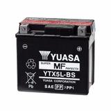 Bateria Motos Yuasa Ytx5l-bs Honda Biz 125 Cg Titan Xr